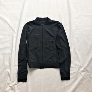 Lululemon light fullzip black jacket